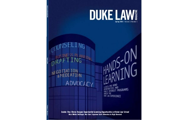 DUKE LAW CLERKSHIP COVER LETTER