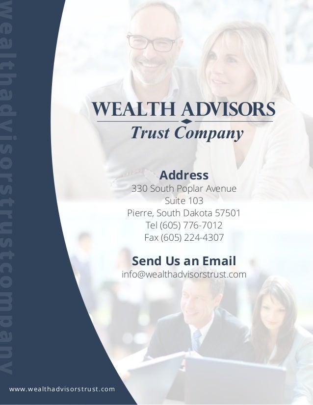Address 330 South Poplar Avenue Suite 103 Pierre, South Dakota 57501 Tel (605) 776-7012 Fax (605) 224-4307 Send Us an Emai...