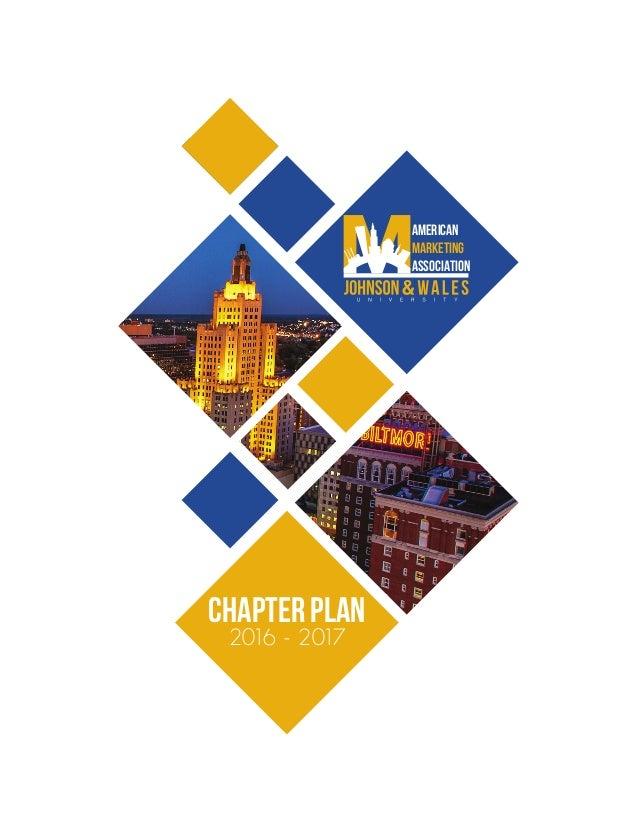 AMERICAN MARKETING ASSOCIATION Chapter plan 2016 - 2017