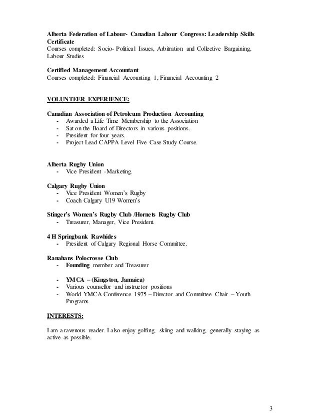 Best Production Accountant Resume Calgary Ideas - Best Resume ...