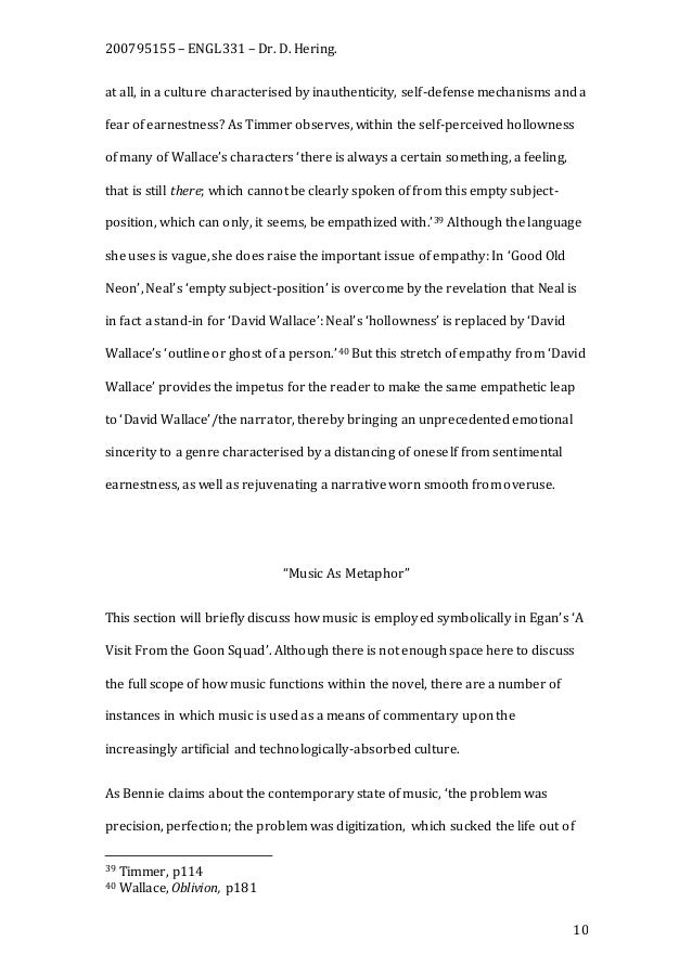 essay perception essay