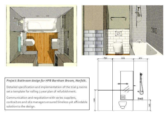 Portfolio Olga Jaszewska 3 Project Bathroom Design