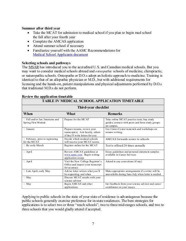 lecom do letter of recommendation new college pre med handbook