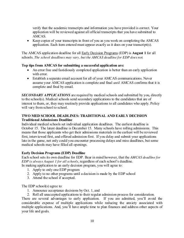 amcas disadvantaged status essay