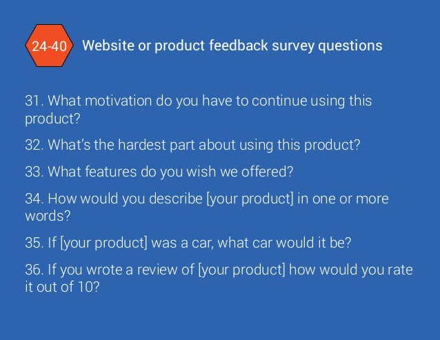 What To Ask Your Audience 79 Powerful Website Survey Question Exampl