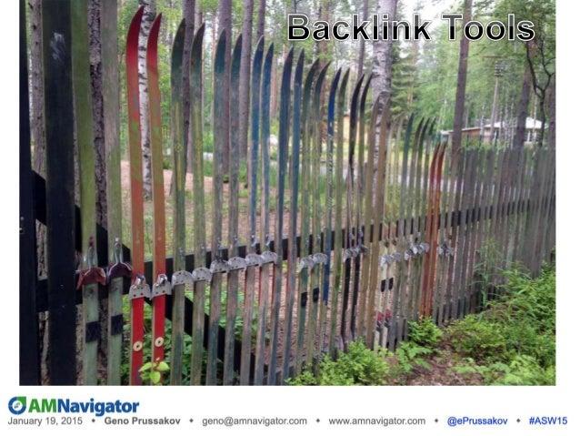 Backlink Tools  SEOquake (free toolbar)  Ahrefs (from $79/mo)  Backlink Watch (free)