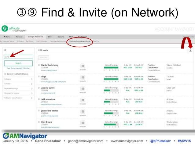 " Free Exposure Opps (Network) Examples: o CJ: ""CJ Monthly"" newsletter o Rakuten: ""New & Notable Advertisers"" blog o Shar..."