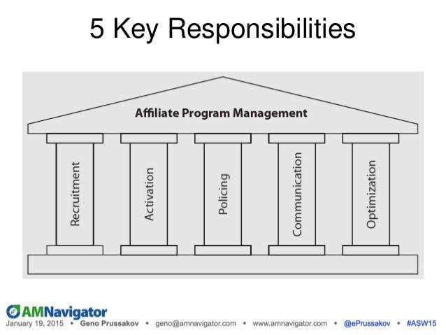 5 Key Responsibilities