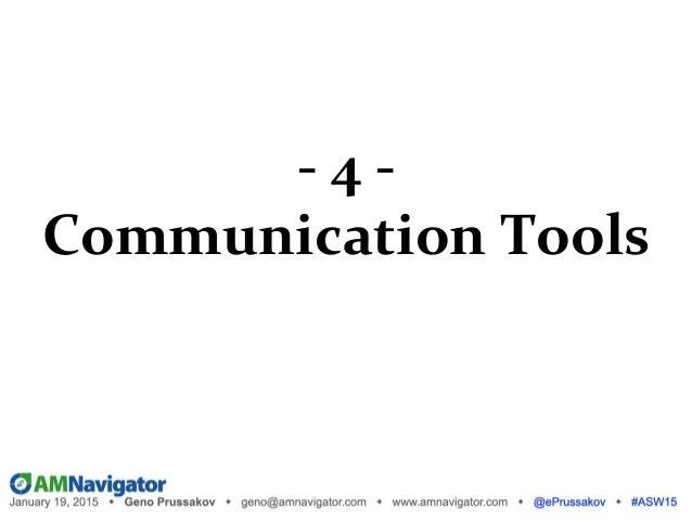 - 5 - Optimization (Intelligence Tools)