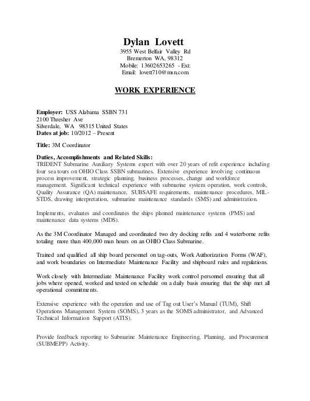 dylan resume rh slideshare net COMUSFLTFORCOMINST 4790.3 Rev.C Us 7th Fleet