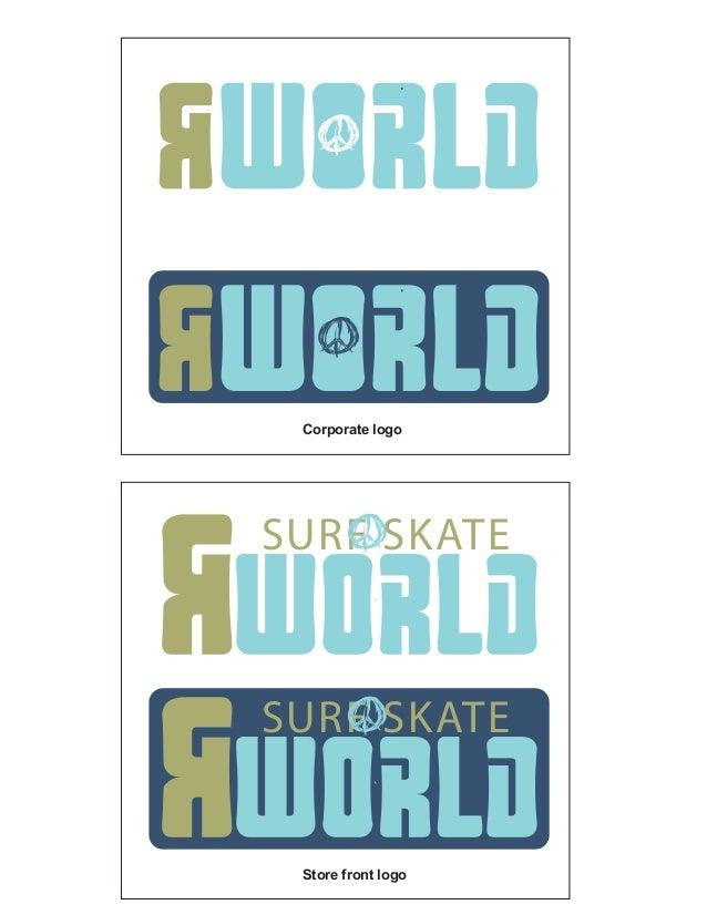 Corporate logo Store front logo SURF SKATE SURF SKATE