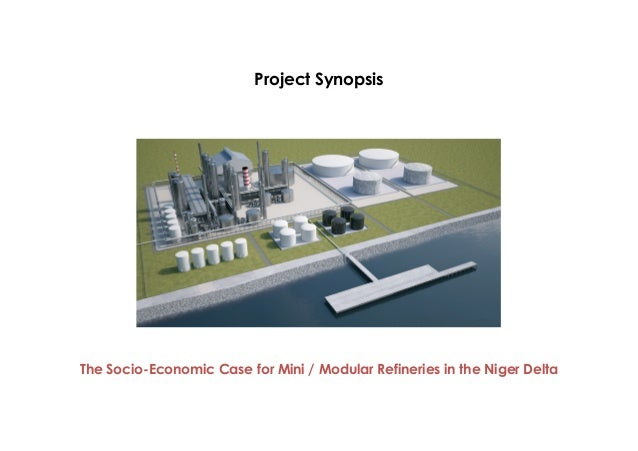 Project Synopsis - Modular Refineries