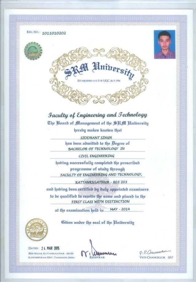 20070829-Siddhant Singh-B.Tech Degree Certificate
