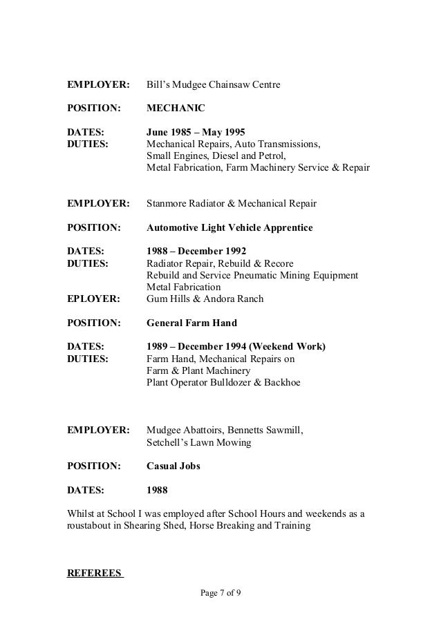 horse farm hand resume experienced stablehand equine