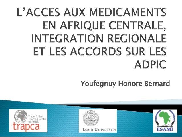 Youfegnuy Honore Bernard