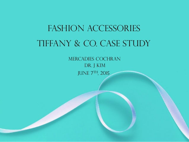 tiffany co case study As the luxury market begins its foray into cyberspace, social media, and online marketing, how has tiffany & co maintained its high standards in service and according to a mckinsey research study, consumers have responded well to online marketing by luxury brands despite the latter's late start.