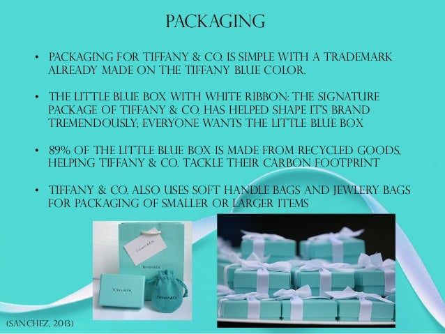 f146283514 ... 23. PACKAGING (SANCHEZ, 2013) • PACKAGING FOR TIFFANY & CO.