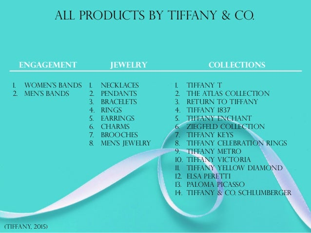 Tiffany co 8 all products by tiffany negle Images