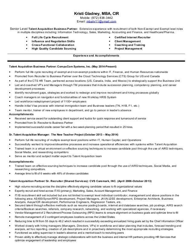 kristi gladney resume