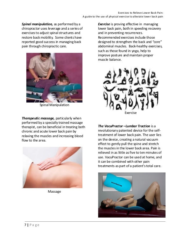 Lower Back Pain Relief Exercises e book (Doc H - Paul and Steve )ver …