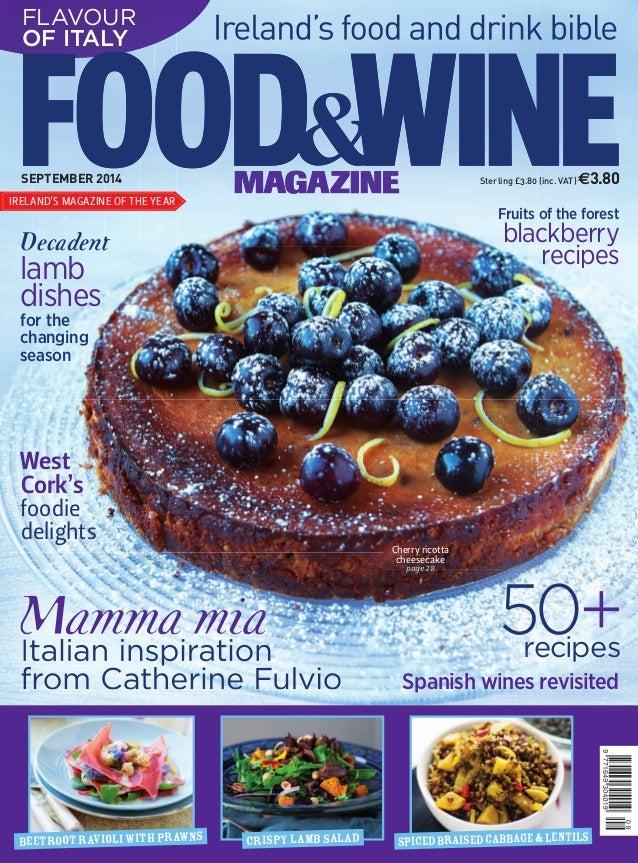 Mamma miaItalian inspiration from Catherine Fulvio Spicedbraisedcabbage&lentilsCrispylambsaladBEETROOTravioliwithprawns SE...
