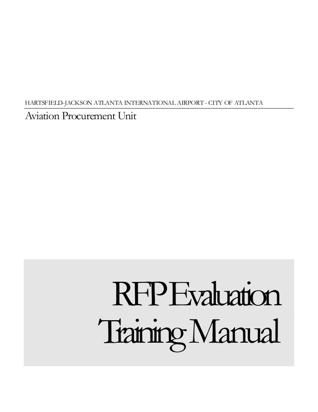Evaluation Training Guide
