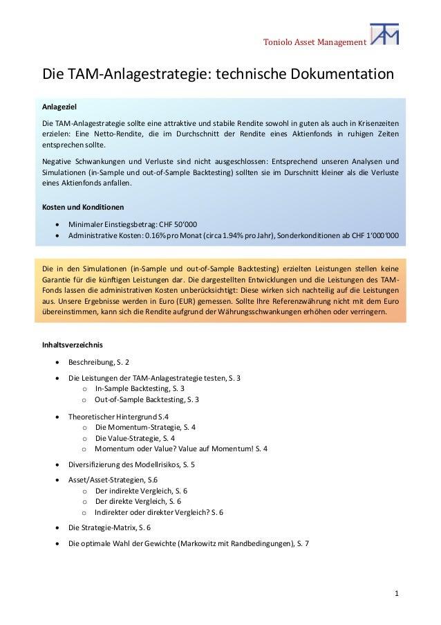 TAM-Anlagestrategie Slide 2
