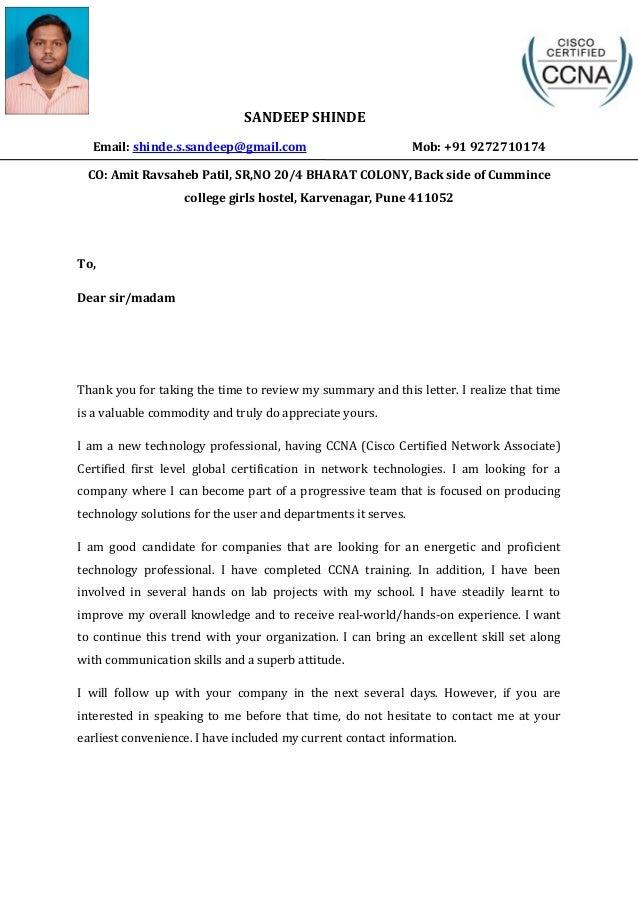 Shinde Sandeep Ccna Certified