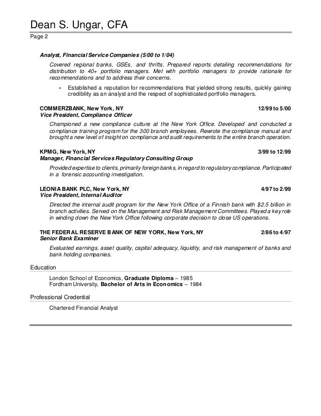 Resume - June 4 revision