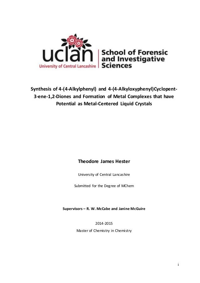 Dissertation uclan
