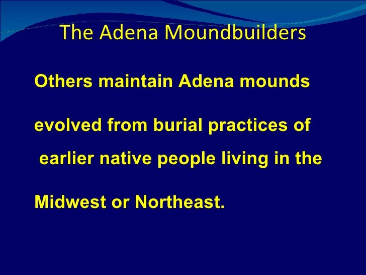 the moundbuilders essay This essay how cahokia was mighty and other 64,000+ term papers,  native american community in north america a society of mound builders, which endured.