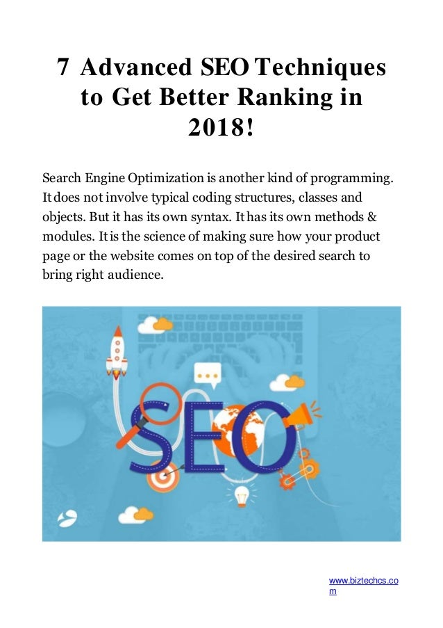 how to get better seo