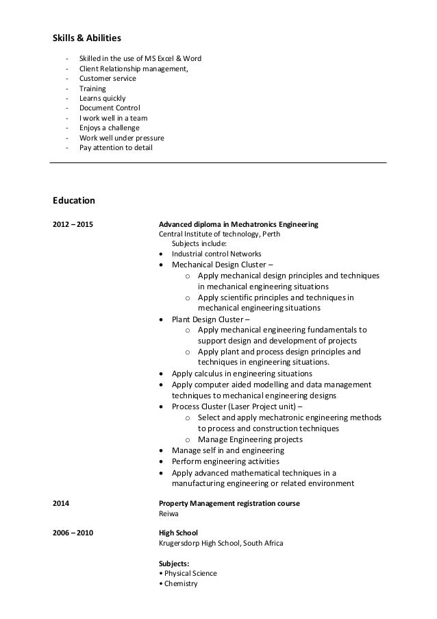 property management skills resume image collections resume format