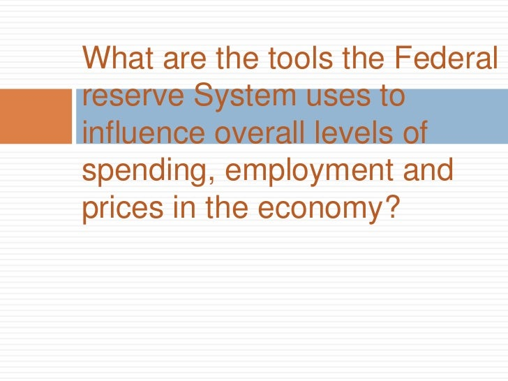 an analysis of the federal reserve system in the united states government Monetary policy in the united states is the responsibility of the: if the federal reserve system buys government securities from commercial banks and the public.