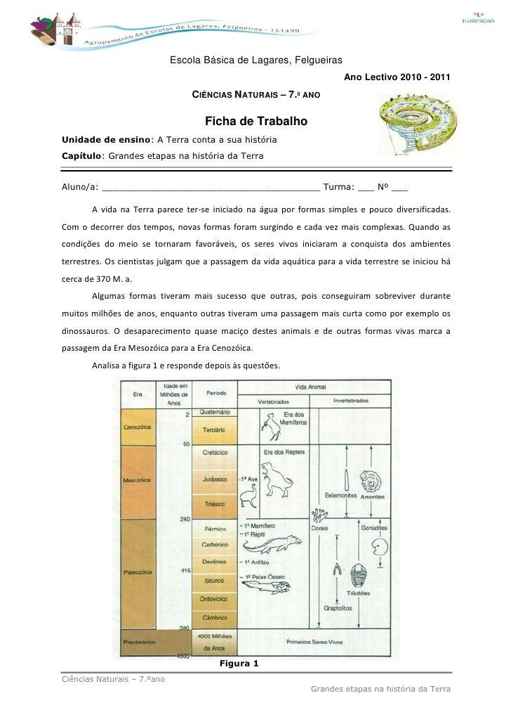 Escola Básica de Lagares, Felgueiras                                                                        Ano Lectivo 20...