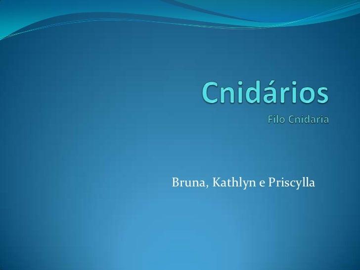 Bruna, Kathlyn e Priscylla