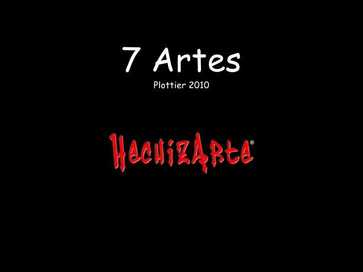 7 ArtesPlottier 2010<br />