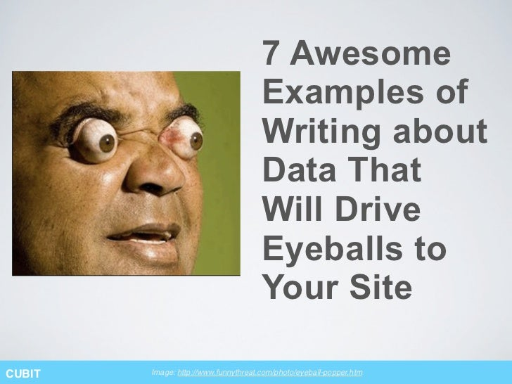 7 Awesome                                      Examples of                                      Writing about             ...