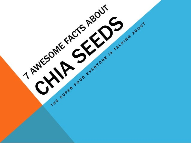 WHAT'S THE DEAL WITH CHIA SEEDS?  Chia seeds have been all over health food magazines, food blogs, and nutritionist guide...