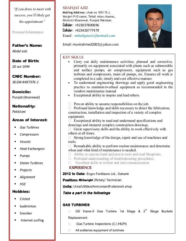 SHAFQAT AZIZ  Mailing Address: chak no 105/15.L  Vanjari P/O same, Tehsil mian channu,  Disttrict Khanewal, Punjab Pakista...