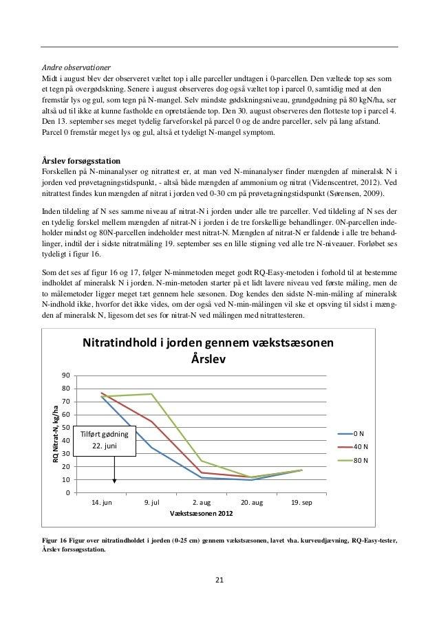 24 0 20 40 60 80 100 120 0 40 80 Udbytte,t/ha N-tilførsel, kg/ha Udbytte ved forskellig N-tilførsel Årslev Frasorteret < 5...