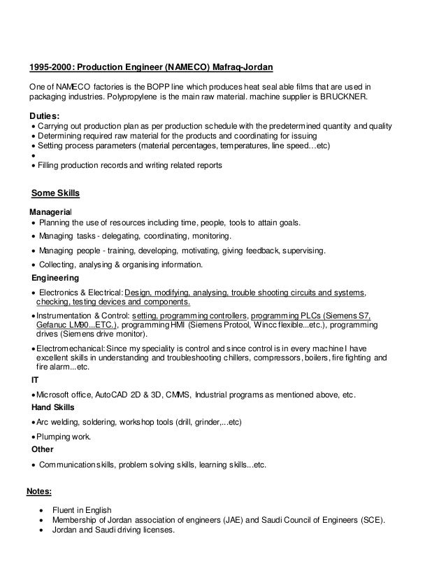 Maintenance Manager Cv .  Maintenance Manager Resume