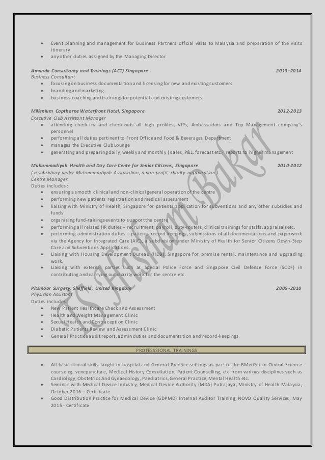 Best Resume Coaching Singapore Images - Example Resume Templates ...