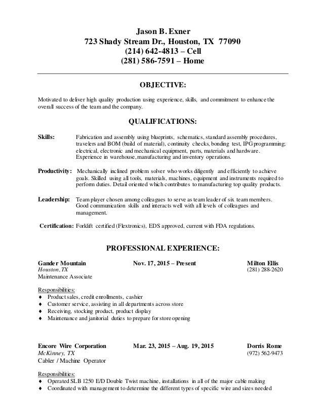 Jason Exner Resume 2016 (1)