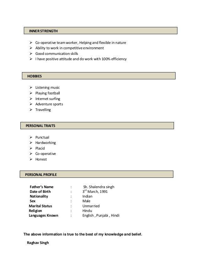 raghav resume