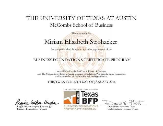 bfp certificate
