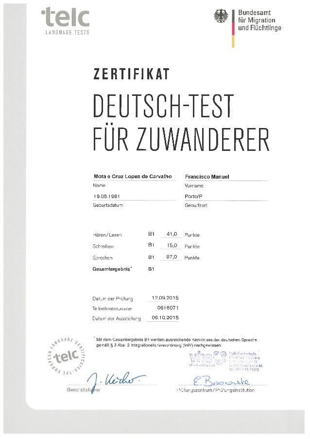 Zertifikat Deutsch Test Für Zuwanderer