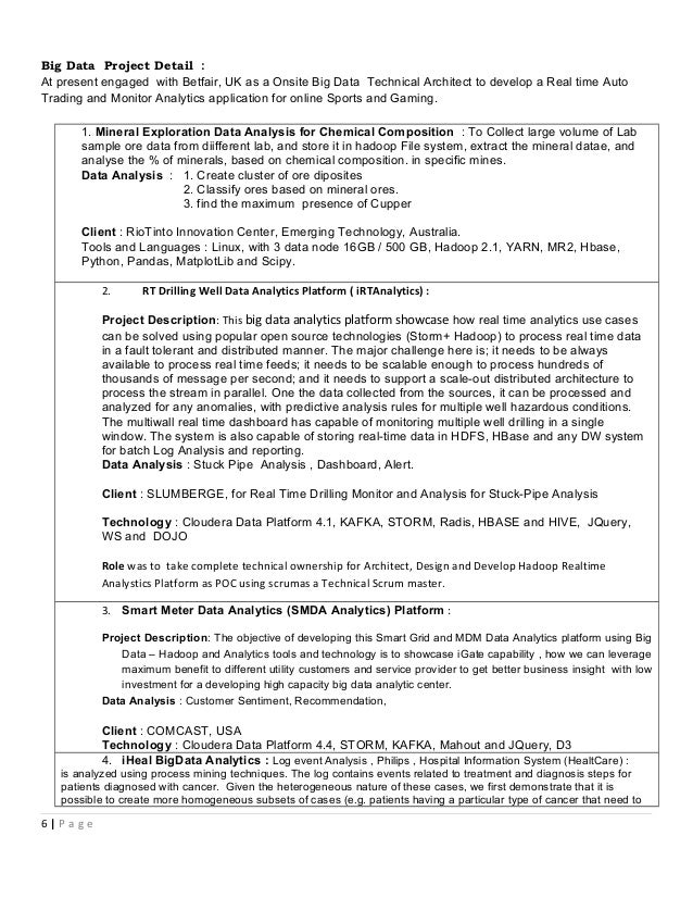 Sap Business Objects Architect Resume