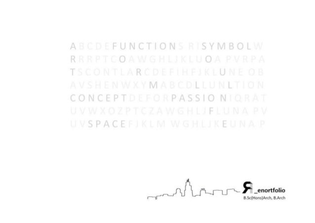 PORTFOLIO - PLACE ARCHITECT