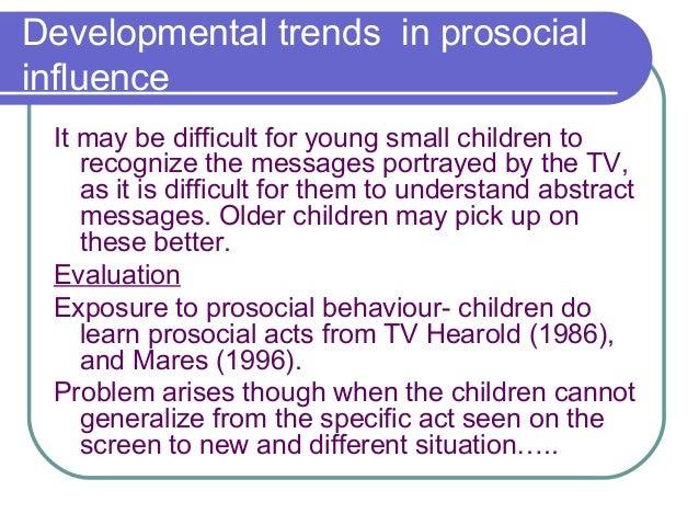 prosocial behavior research paper
